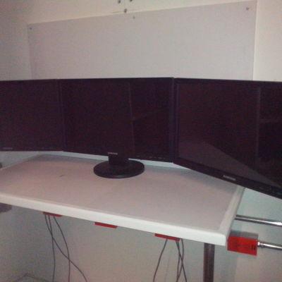 mesa  de monitoreo