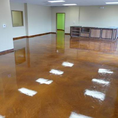 raparacion de pisos de concreto en salon