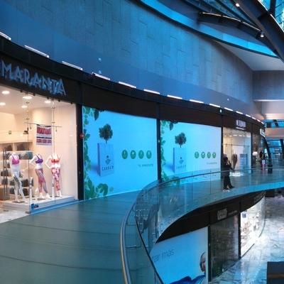 obra comercial y estructural Garden Sta. Fe CDMX.