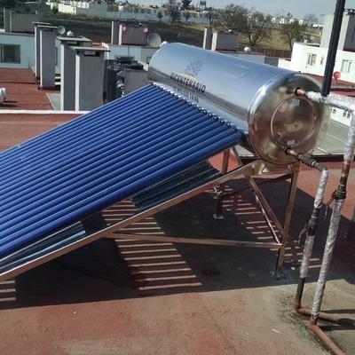 Calentadores Solares Baja y Alta Presion