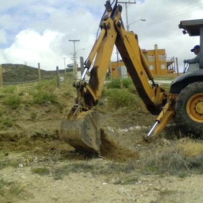 Excavación del predio