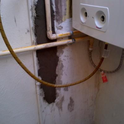 Instalación de calentador de paso