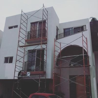 Restauración de exteriores Residencia en Las Brisas , Monterrey , N.L.