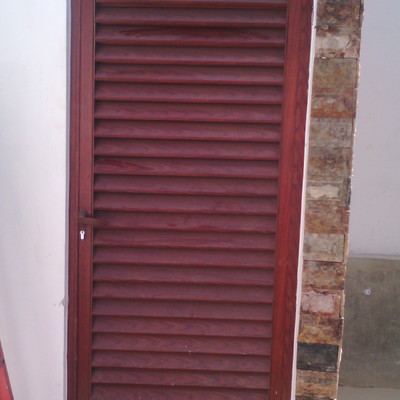 puerta de louver