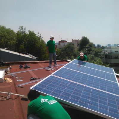 Instalación fotovoltaica 3.06 KW en Naucalpan