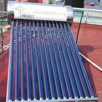 Calentador solar 178 litros (15 tubos)