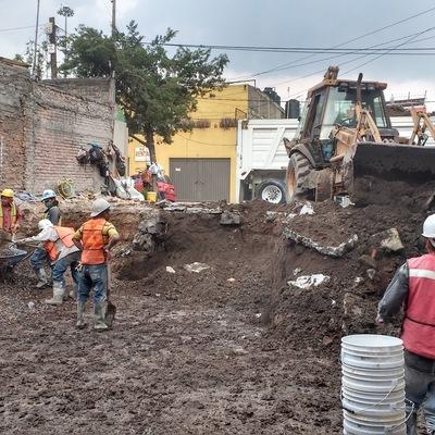 Excavacion final