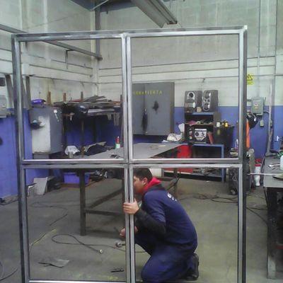 Fabricación de ventanal blindado Nivel 3