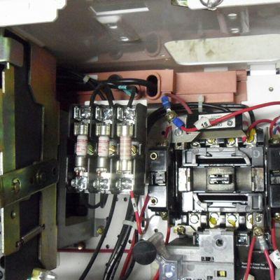 instalación de tablero de control