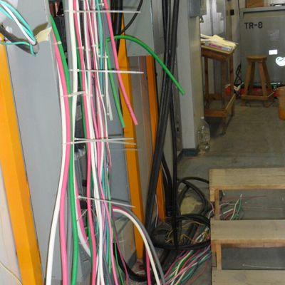 cableado para alimentación a tablero de control