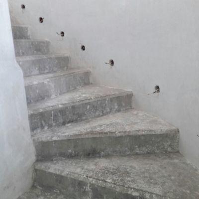 Escaleras iluminadas-proeceso