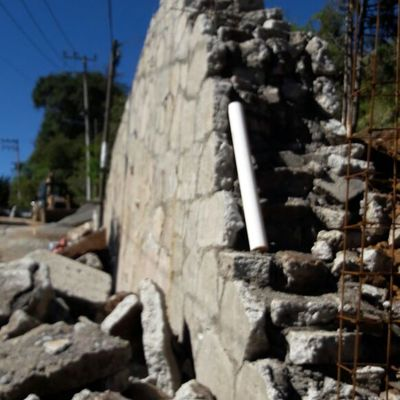 Muro de Contención para vivienda