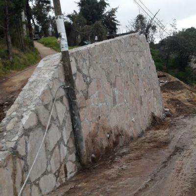 Muro de Contención para camino