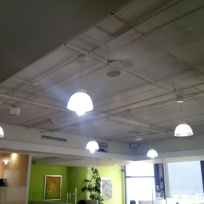 Instalación de Luminarios en Oficinas