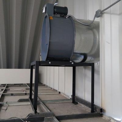 Instalación extractor