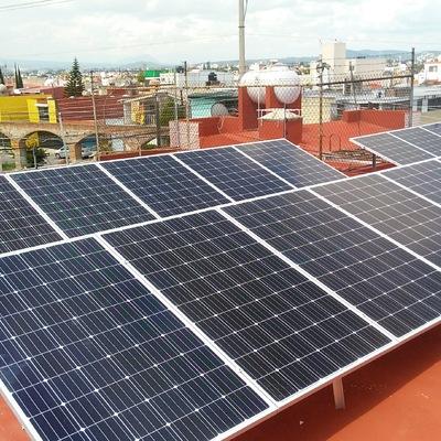 sistema fotovoltaico de 4.05 KW