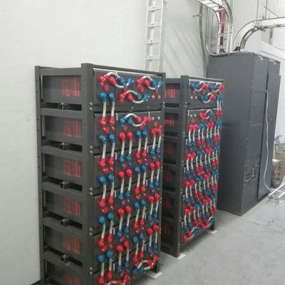 Instalación de bancos de batería