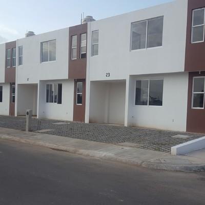 Fachada casas tipo II