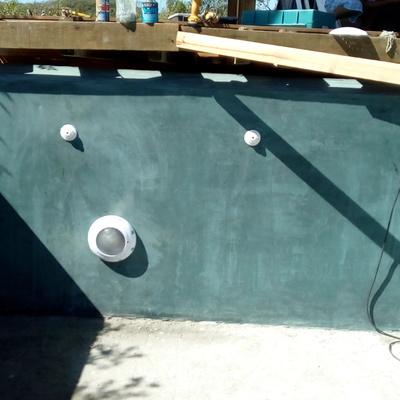 alberca de concreto