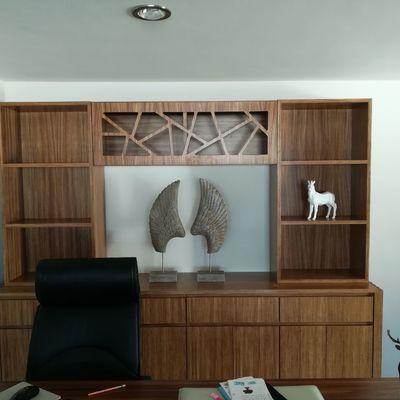 Hacemos todo de madera en muebles y cocinas