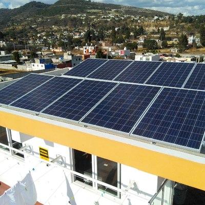 sistema interconexion fotovoltaica de 6.16 KW