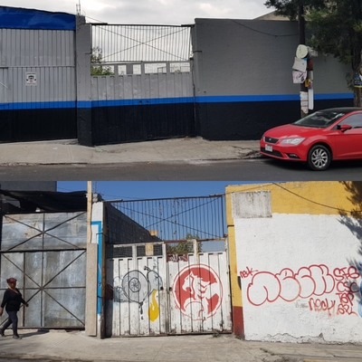 Pintura fachada y cambio de zaguan