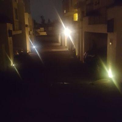 Iluminacion en La Magdalena Contreras