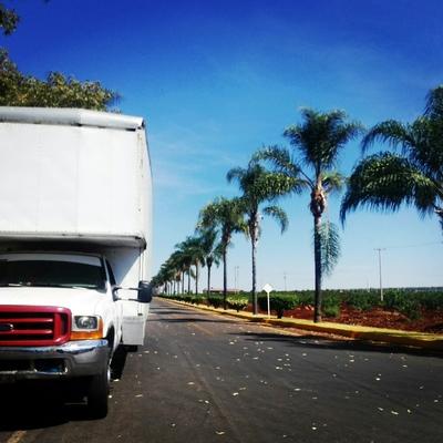 camioneta 4.5 ton frente