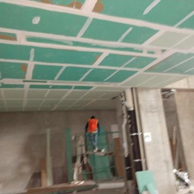 instalación de Tablaroca contra humedad