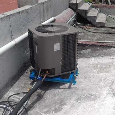 instalacion de condensadora para sistema minisplit 3 toneladas