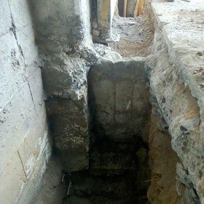 Cimientos de Muro 2