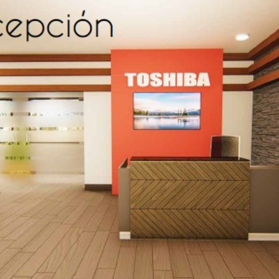 Render recepcion toshiba