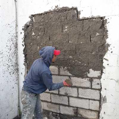 Reparación de muro