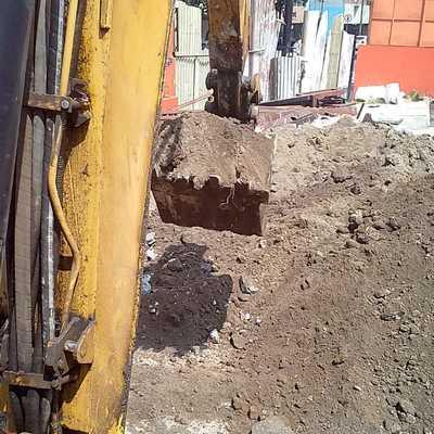 Excavación Para Cisterna
