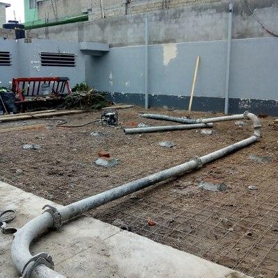 Construcción de patio de maniobras para Nave Insdustrial