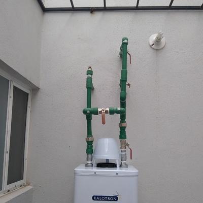 Instalación de Boiler