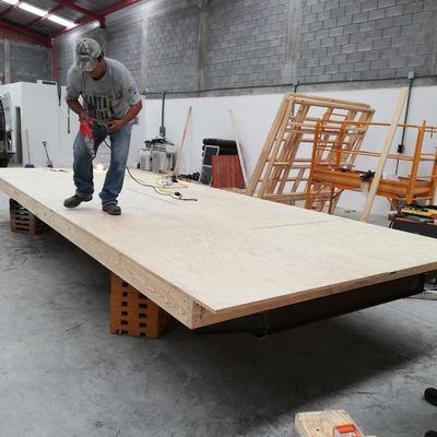 Proceso de fabricacion de oficina movil