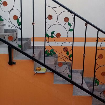 Herrería barandales escaleras