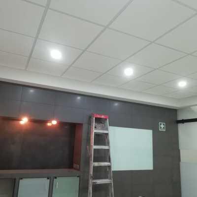 luminarias en oficinas