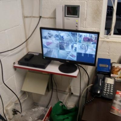 Sistema de seguridad por cámaras de vídeo
