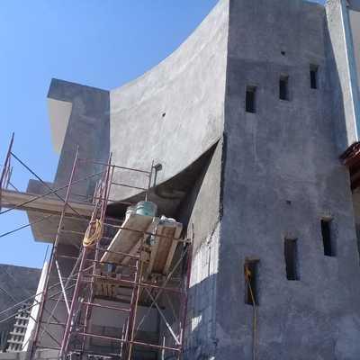 Acabado en fachada