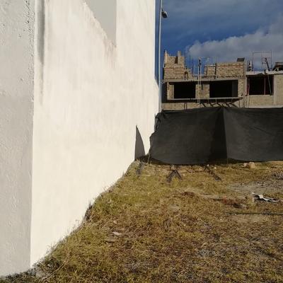 DESPUÉS Reparación de muro