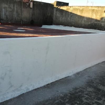 DESPUÉS Reparación de filtración por muro