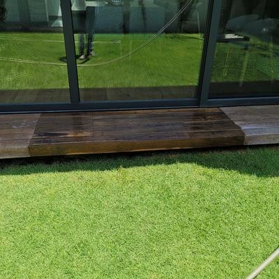Mantenimiento de madera de exterior