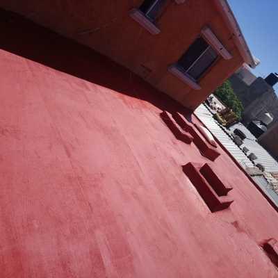 Impermeabilizacion rojo terracota