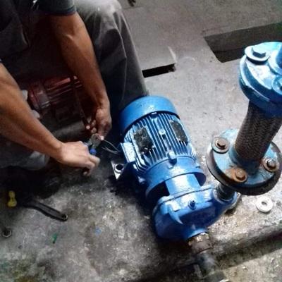 Conexión de motor  Sistema principal de agua potable
