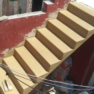 Escalera acabado cantera