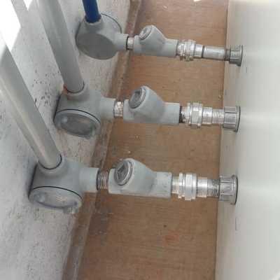 instalación de equipo de telecomunicación