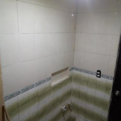 Azulejo en baño