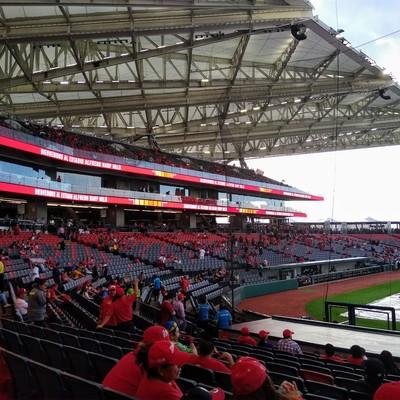 Estadio béisbol Diablos Rojos del México